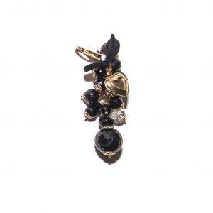 Onyx cashmere pendant