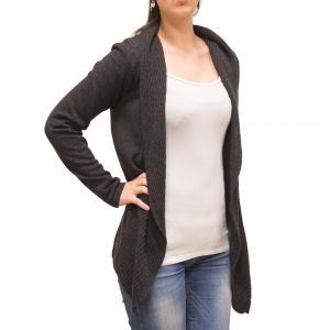 Anthracite cashmere jacket