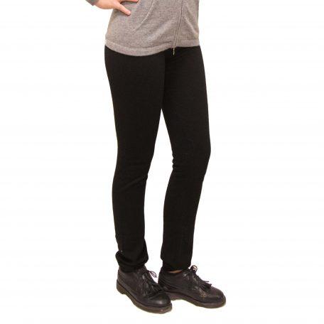 Black cashmere Trousers